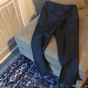 Ann Taylor Pants - Ann Taylor silk ankle pant 6 black